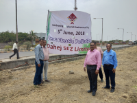 Plantation Activity at Dahej SEZ